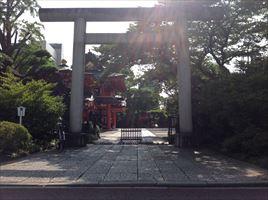 千葉神社一の鳥居
