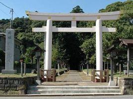 香取市佐原諏訪神社一の鳥居