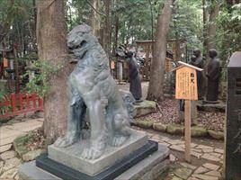 駒木諏訪神社狛犬あ形