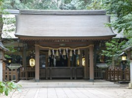 駒木諏訪神社拝殿