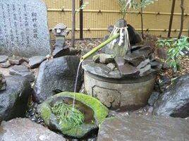 駒木諏訪神社御神水