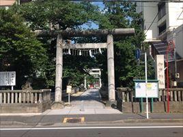 松戸神社一の鳥居