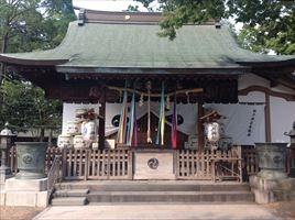松戸神社本殿