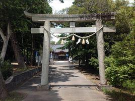 白子神社一の鳥居