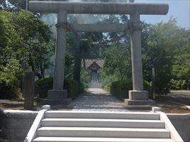 高家神社一の鳥居