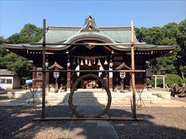 姉埼神社拝殿