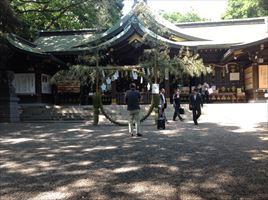 検見川神社拝殿