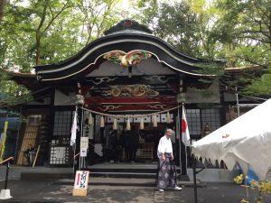 新屋 山神社拝殿