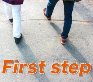 最初の1歩